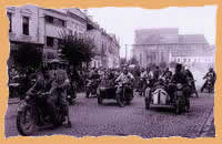 Street race in Turda 1947